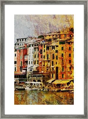 Mgl - Gold Nyc 01 Framed Print