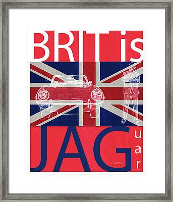 Mgl - Travel Brit Is 02 Framed Print by Joost Hogervorst
