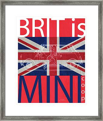 Mgl - Travel Brit Is 03 Framed Print by Joost Hogervorst