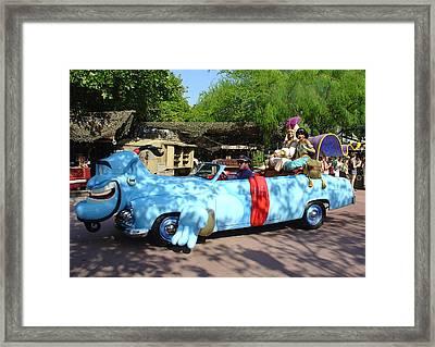 Framed Print featuring the photograph Mgm Aladdin by David Nicholls