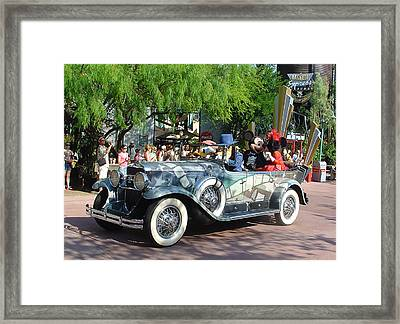 Framed Print featuring the photograph Mgm Famous 4 by David Nicholls