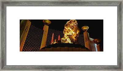 Mgm Grand Las Vegas Nv Framed Print by Panoramic Images