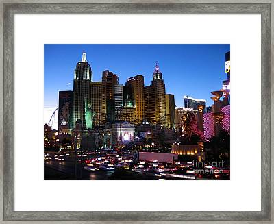 Mgm Lion Framed Print by John Malone