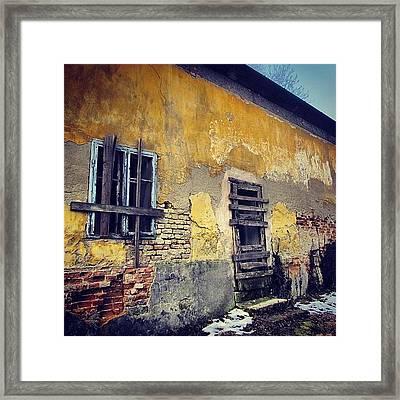 #mgmarts #allshots_may12_yellow Framed Print by Marianna Mills
