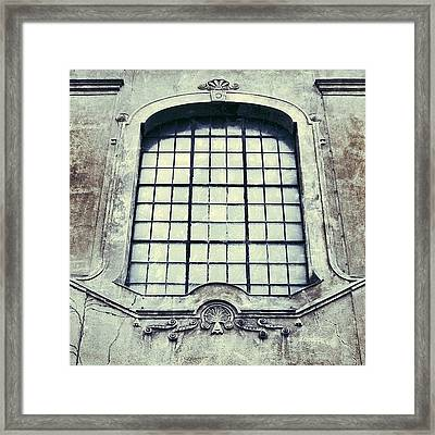 #mgmarts #building #old #architecture Framed Print