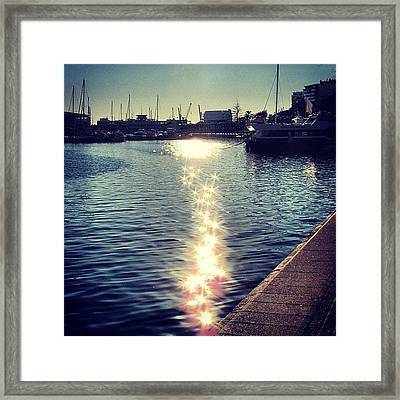 #mgmarts #spain #alicante #sea #seaside Framed Print