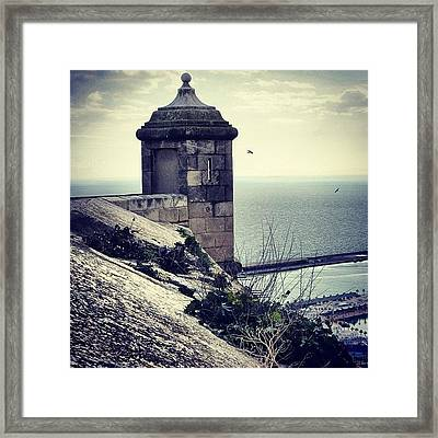 #mgmarts #spain #alicante #view #nature Framed Print