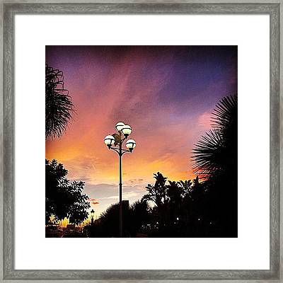 #mgmarts #spain #sea #seaside Framed Print