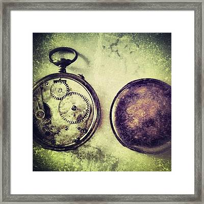 #mgmarts #watch #time #bestogram Framed Print by Marianna Mills