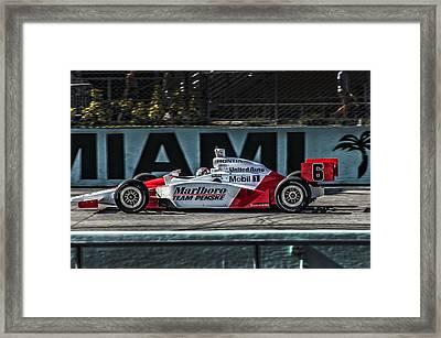 Mhs Indy Framed Print
