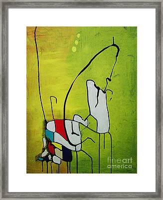 Mi Caballo Framed Print by Jeff Barrett