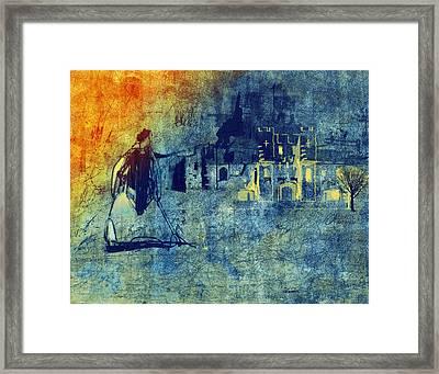 Framed Print featuring the digital art Mi Casa by Arline Wagner