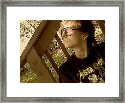Mi Framed Print by Thommy McCorkle
