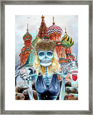 Mi Vodka Framed Print by Heather Calderon