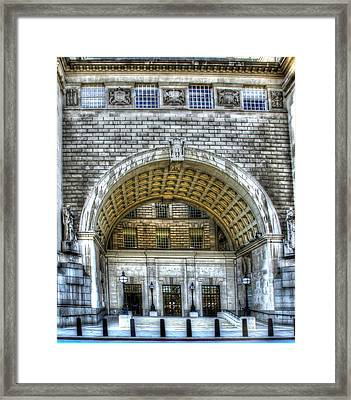 Mi5 Offices  London Framed Print by David French