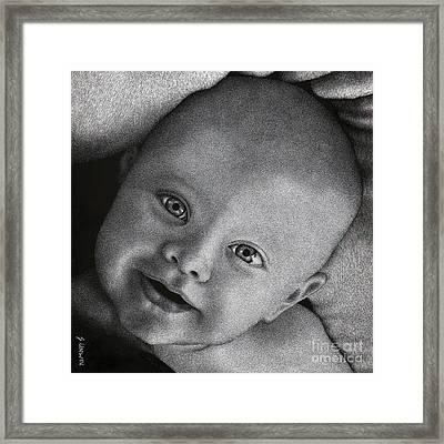 Mia Framed Print by Sheryl Unwin