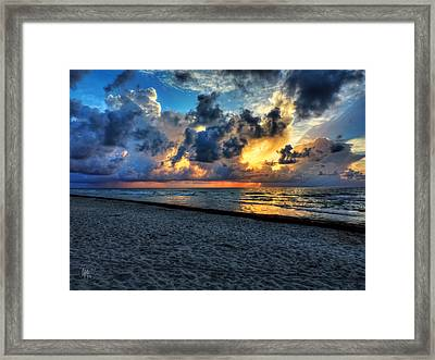 Miami - South Beach Morning 001 Framed Print