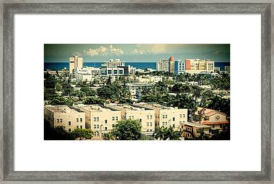 Miami Beach-0156 Framed Print