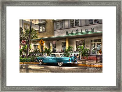 Miami Beach Art Deco 1 Framed Print