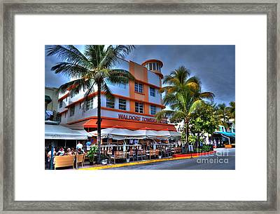 Miami Beach Art Deco 2 Framed Print