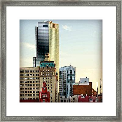 Miami Buildings ... (gesu Church - Framed Print