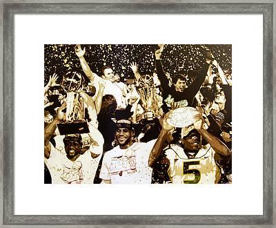 Miami Champions Framed Print by Bobby Zeik