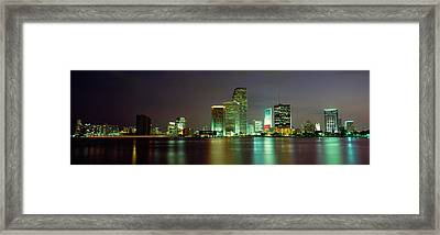 Miami Fl Usa Framed Print
