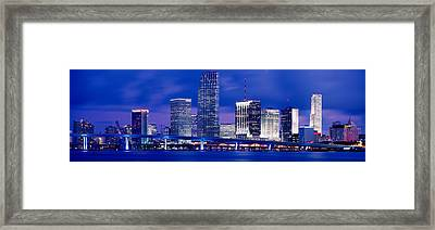 Miami, Florida, Usa Framed Print