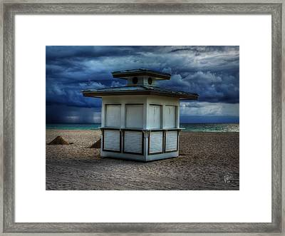 Miami - South Beach 005 Framed Print by Lance Vaughn
