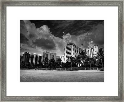 Miami - South Beach 006 Framed Print by Lance Vaughn