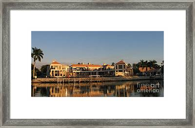 Framed Print featuring the painting Miami Style by Shelia Kempf