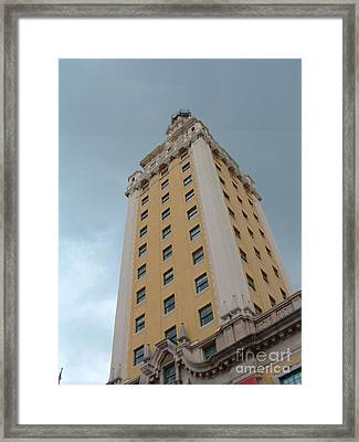 Miami Tall Framed Print