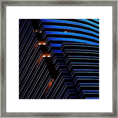 Miami Tower - Miami ( Details ) Framed Print