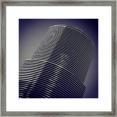 Miami Tower Bldg. - Miami ( 1983 - 1987 Framed Print