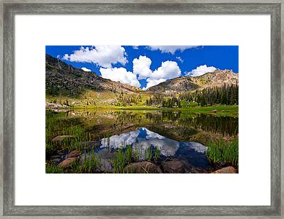 Mica Lake Framed Print