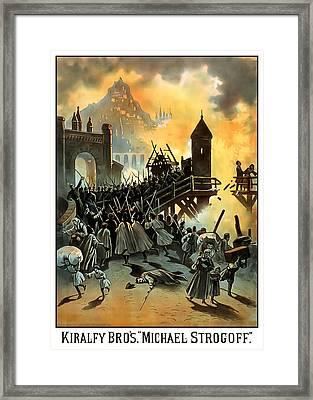 Micael Strogoff Framed Print by Terry Reynoldson