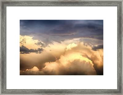 Michael Angelo Cloudscape Framed Print
