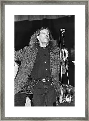Michael Bolton Framed Print by Concert Photos