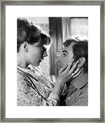 Michael Caine In Alfie  Framed Print by Silver Screen