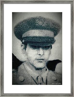 Michael Corleone Framed Print