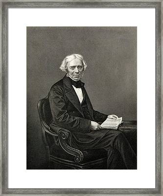 Michael Faraday Framed Print by Chemical Heritage Foundation