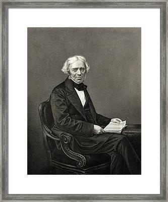 Michael Faraday Framed Print