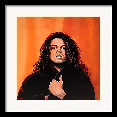 Michael Hutchence Framed Prints