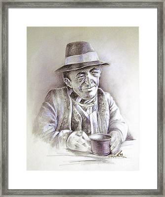 Michael J Anderson Framed Print by Miki De Goodaboom