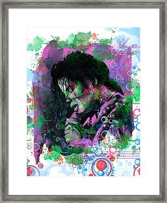 Michael Jackson 16 Framed Print by Bekim Art