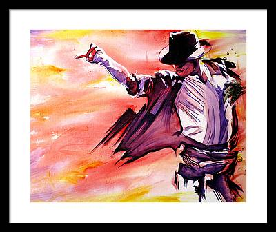 Billie Jean Framed Prints