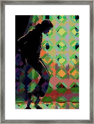 Michael Jackson Framed Print by Scott Davis