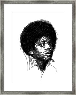 Michael Jackson- The Early Years Framed Print by Steve K