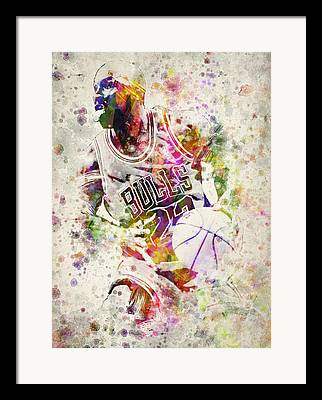 Dunks Digital Art Framed Prints