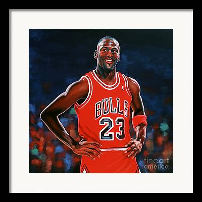 Air Jordan Framed Prints